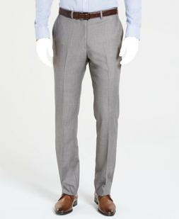 $140 Dockers Men's 37W 32L Gray Modern Fit Suit Dress Sharks