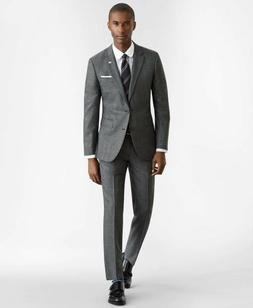 Brooks Brothers 2-button Milano Fit Glen Plaid 1818 Suit, Gr