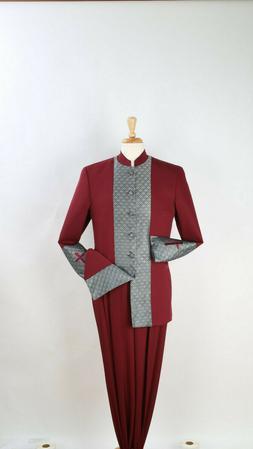Royal Diamond 2 Piece Men's Pastor Suit