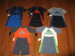 ADIDAS  2 Piece T-Shirt & Shorts Outfit Set  Boys 18M/ 24M /