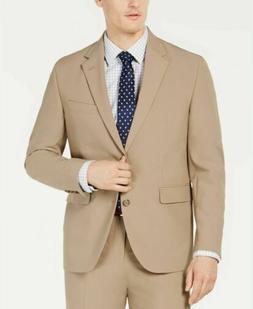 $250 Dockers Men's Classic-Fit Suit Jacket 42R Tan Khaki NEW