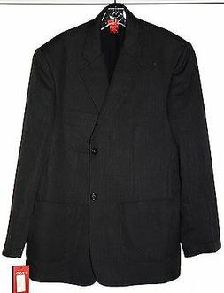 $265 New IZOD Mens Gray Herringbone Sport coat blazer suit j