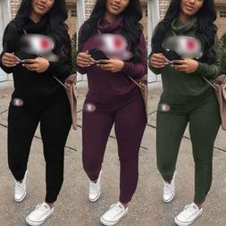 2pcs/set Women Casual Tracksuit Jogging Gym Sports Spring Sw