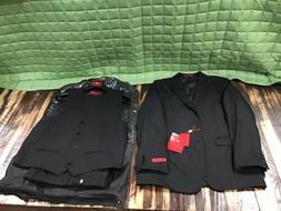 Gioberti 3 Piece Suit Black Boys Size 14