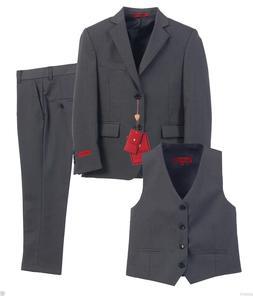 Gioberti 3 Piece Toddlers Kids Boys Formal Suit, Vest, Pants