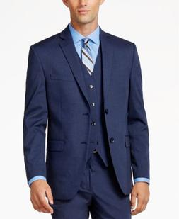 $300 ALFANI Men's SLIM FIT BLUE 2 BUTTON BLAZER SUIT JACKET