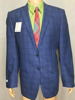 3225 NWT CALVIN KLEIN Mens 44 Long Suit Jacket Blazer Sports