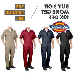 DICKIES 33999 MENS COVERALLS SHORT SLEEVE COVERALL MECHANICS