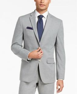 $565 Van Heusen 40R Men's Gray Slim Fit 2 Piece Stretch Suit
