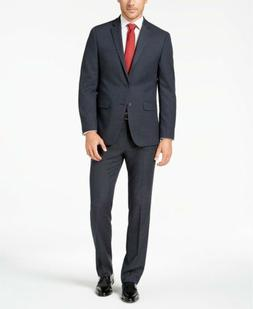 $395 Van Heusen Flex Men's Slim-Fit Suit 46L / 39 x 33 Blue