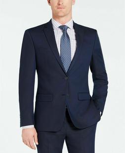 $395 Van Heusen Flex Men's Slim-Fit Suit 46R / 39 x 32 Navy