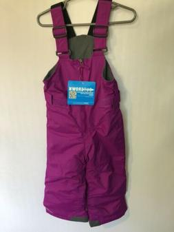 Columbia 3T Snow Suit Purple Chillee Bib CYouth Infant Girls