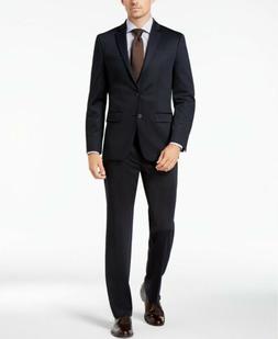 b145fcaff113 $395 Van Heusen Flex Men's Slim-Fit Suit 44R / 37 x 32 Navy