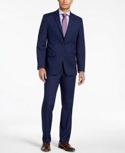 d6bcf3ae5d2d $395 Van Heusen Flex Men's Slim-Fit Suit.