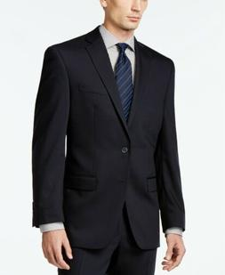 $425 Calvin Klein Solid Navy Slim-Fit Suit Jacket 40S NEW