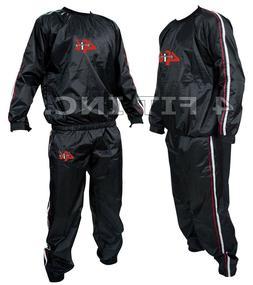 4FIT Heavy Duty Sweat Suit Sauna Exercise Gym Suit Fitness,