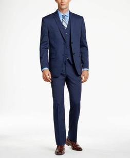 $509 ALFANI Men's 38S Blue SLIM FIT 2 PIECE SUIT JACKET BLAZ