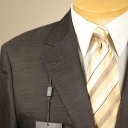 54L STEVE HARVEY Dark Brown Suit - 54 Long Mens Suits - SH07
