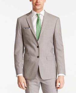 $630 Calvin Klein Extreme Slim Fit Wool Sport Coat Gray Suit