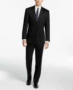 650 black modern slim fit stretch suit