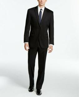 $650 Calvin Klein X-Fit Solid Slim Fit 2PC Suit 38R / 32 X 3