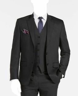 $755 Ralph Lauren Men'S Classic Fit Gray Suit Coat Striped B
