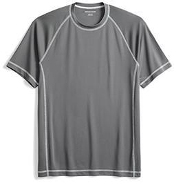 Amazon Essentials Men's Short-Sleeve Quick-Dry UPF 50 Swim T