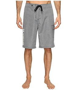 "Hurley Men's Heathered One & Only 22"" Boardshorts Cool Grey"