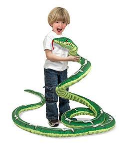 Melissa & Doug Giant Boa Constrictor - Lifelike Stuffed Anim