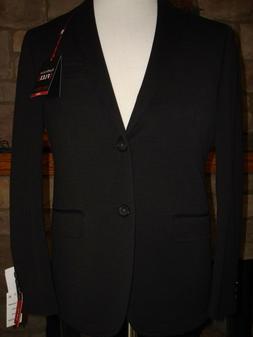 Men's Van Heusen FLEX 36S Black blazer/sport coat $160 Slim