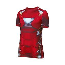 Under Armour Alter Ego Iron Man Suit Youth X-Large Cardinal
