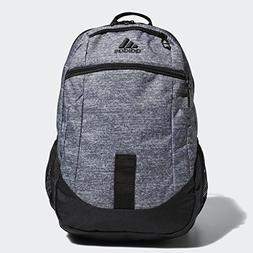 adidas Foundation Iv Backpack, Onix Jersey/Black, One Size