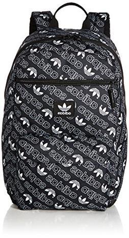 adidas Originals Aop Monogram National Backpack, Black, One