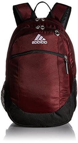 adidas Unisex Striker II Team Backpack, Maroon/Black/White,