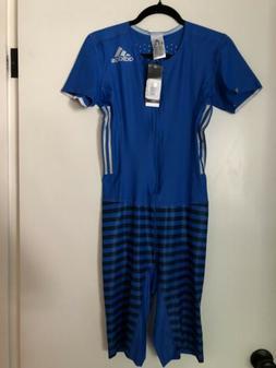 Adidas ADIZERO SPRINT SUIT Track SpeedSuit Mens Blue M Zip C