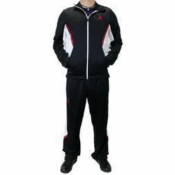 Nike Air Jordan Dri-Fit Two Piece Track Suit Black White Men