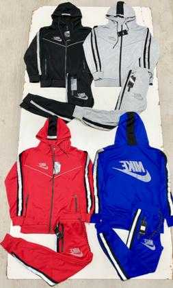 Nike Air Tech Fleece Sweat Suit Top & Bottom Jogger Complete