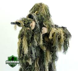 Arcturus Warrior Ghillie Suit | 5-Pc Camo Suit for Hunting,