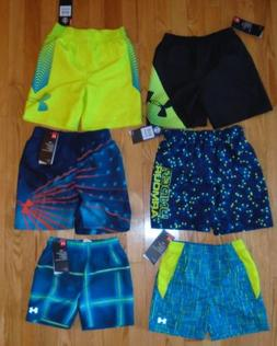 Under Armour Baby Boys Swim Trunks Lined Shorts Bathing Suit