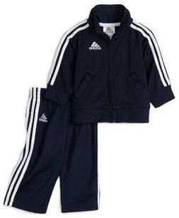adidas Baby Boys' Tricot Jacket and Pant Set