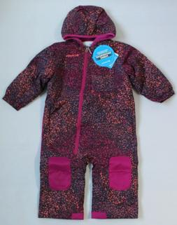 Columbia Baby Girl 18-24M Infant Hot-Tot Suit 1-Pc Snowsuit
