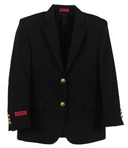 Gioberti Big Boys Formal Black Blazer Jacket, Size 10