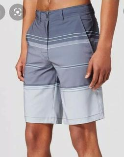 Mossimo Big Tall 44 Bathing Suit Trunk Mens Gray Multi Color