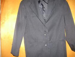 Dockers Blue/ Black Blazer Suit Jacket Size  8 Regular Kids