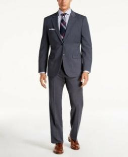 Nautica Blue Modern-Fit Active Stretch Suit Mens 38R 38 Pant