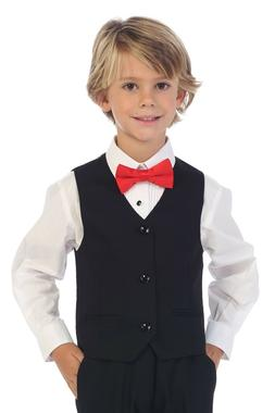 Gioberti Boy's 4 Button Formal Suit Vest