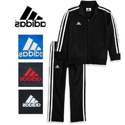 Adidas Boys' 2-Piece Track Suit  Pants & Jacket, 3T, 4T
