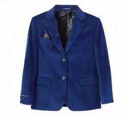 Gioberti Boys Blazers Royal Blue Size 12 Two-Button Notch La