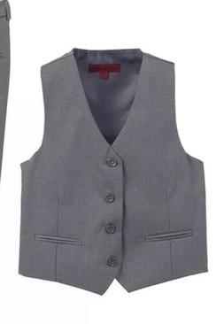 Gioberti Boys Grey Formal Vest Suit Brand New Without Tags
