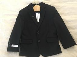 boys suit black jacket 2 button size